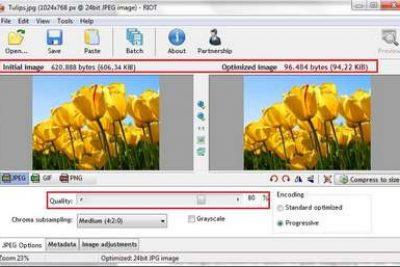 Hướng dẫn giảm dung lượng ảnh bằng phần mềm Riot và Microsoft Picture Manager