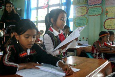 Kon Tum: Khảo sát giáo viên tiếng Anh về tài liệu dạy học; thực trạng dạy và học Ngoại ngữ