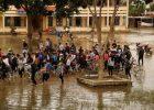 Ngành giáo dục huyện ứng phó khẩn cấp với áp thấp nhiệt đới và mưa lũ