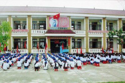 Nên sáp nhập các trường tiểu học dưới 10 lớp trong cùng một xã