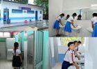 """Ngành giáo dục huyện phát động phong trào thi đua """"Xây dựng Nhà vệ sinh thân thiện trong các trường học"""" giai đoạn 2018-2023"""
