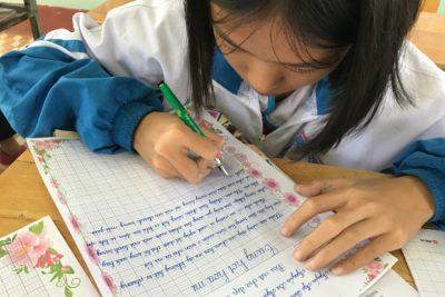 Rèn chữ viết cho học sinh lớp Một (Phần thứ hai)