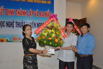 Ông Vũ Việt Thắng – Phó trưởng Phòng GDĐT làm Chi hội phó Chi hội Văn học nghệ thuật huyện Ngọc Hồi