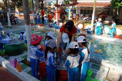 Trung tuần tháng 5/2018: Tổ chức nghiệm thu và bàn giao học sinh mẫu giáo 5 tuổi