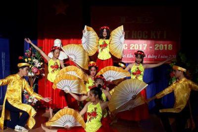 Trường THCS Thị Trấn Plei Kần tổ chức sơ kết học kỳ I, năm học 2017-2018