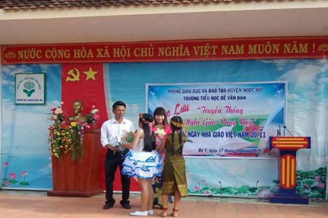 Trường Tiểu học Bế Văn Đàn giao lưu kỷ niệm ngày Nhà giáo Việt Nam 20/11/2017