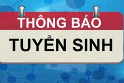 Tuyển sinh các lớp chứng chỉ tiếng Lào; DTTS Xê đăng;  Tin học Ứng dụng CNTT cơ bản; nâng cao