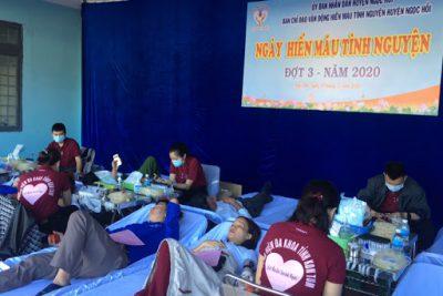 Hơn 20 CBQL, giáo viên tham gia hiến máu nhân đạo đợt 3/2020
